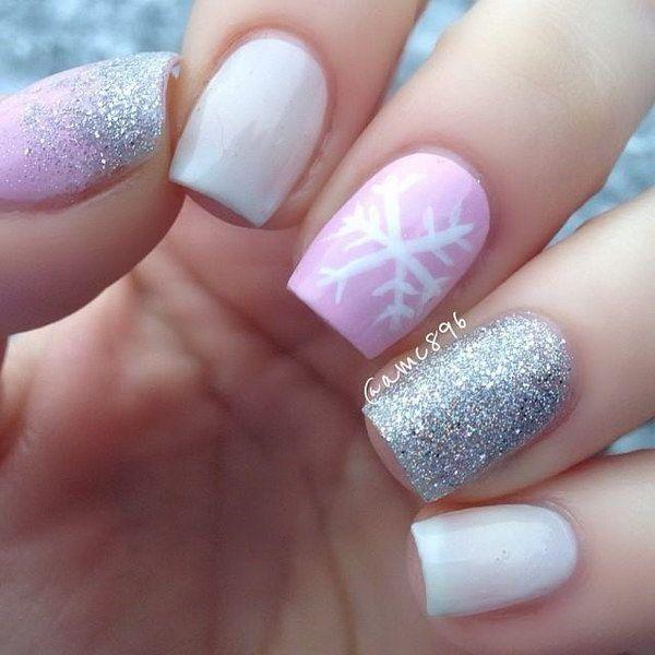 0c3c2ff17b2d8a490a6d7a4909df5447--pink-nail-art-pink-nails
