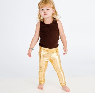 american-apparel-gold-lame-leggings-for-kids