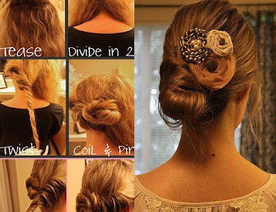 Nina Nomiki how to hair styles 1