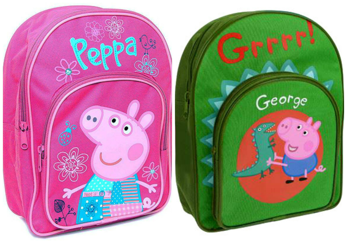 collage Peppa & George