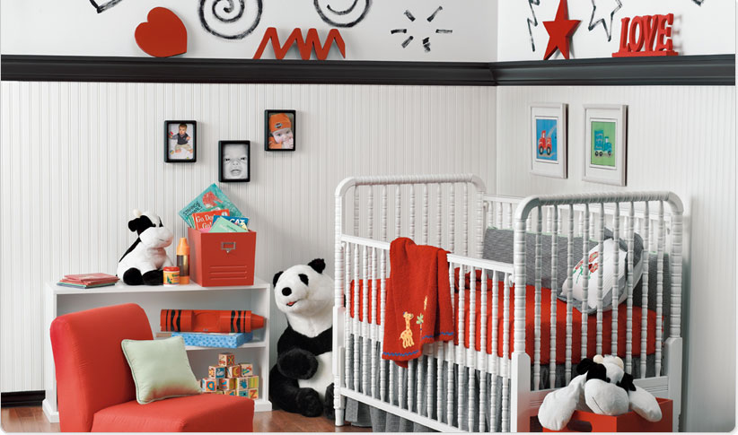 white-and-red-baby-room-home-interior-design-1