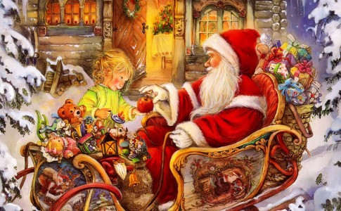 Copy-of-santa-claus-giving-an-apple