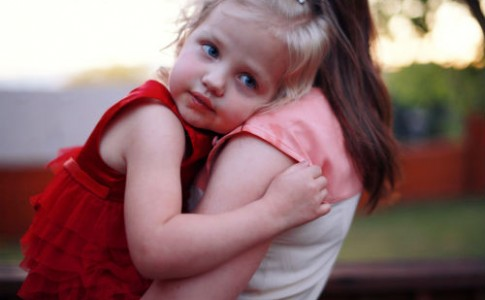 Hugging-Mom