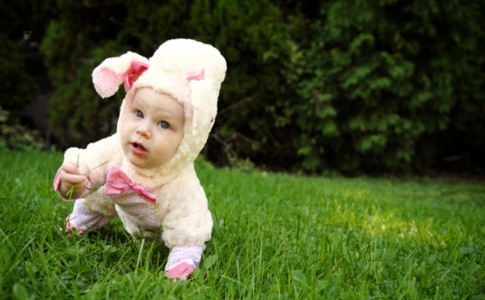 homemade-lamb-costume-baby