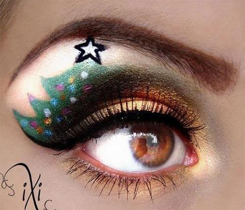 Creative-Christmas-Party-Or-Fantasy-Eye-Make-Up-Ideas-Looks-X-mas-Eyeshadows-12