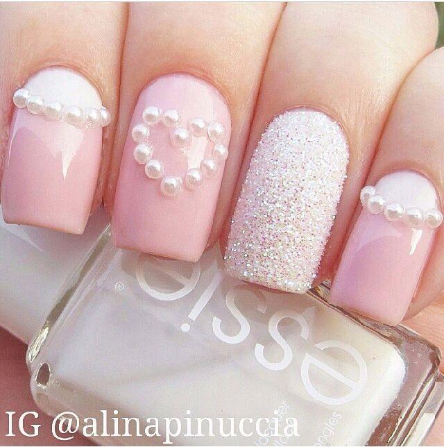 533e0280ea72ad65eb1dc6e44f4f2b15--pink-white-nails-pink-nails