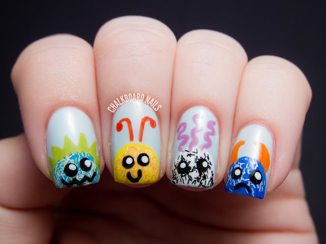 cute-monster-nails