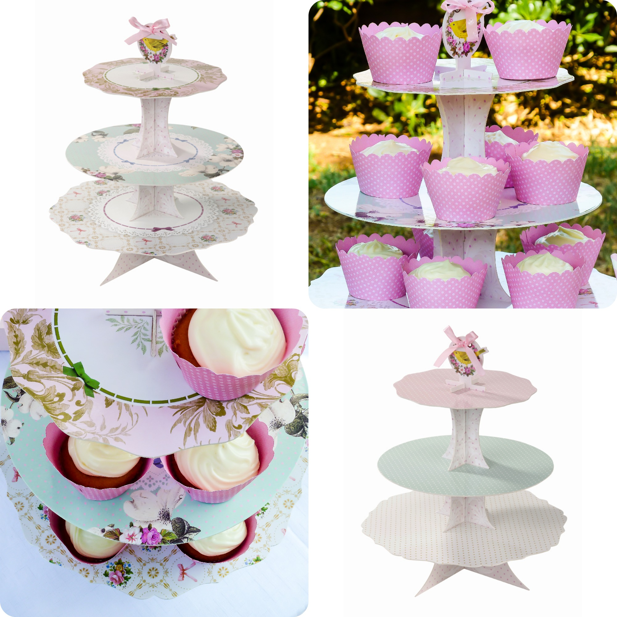 cakestand Collage