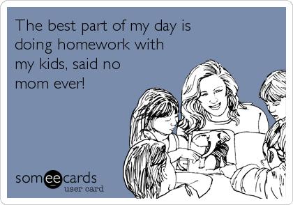 positive doing homework