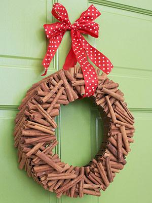 cina-stick wreath