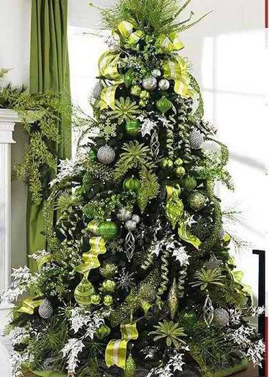 christmas_tree_decorating_ideas_lime_green