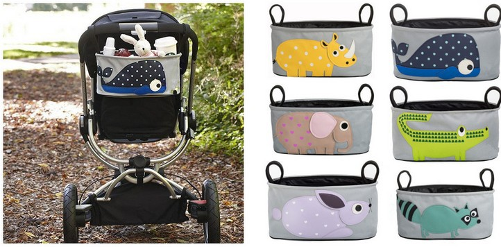 2014-New-baby-Animal-font-b-Stroller-b-font-Accessories-storage-bottle-Diapers-font-b-organizer