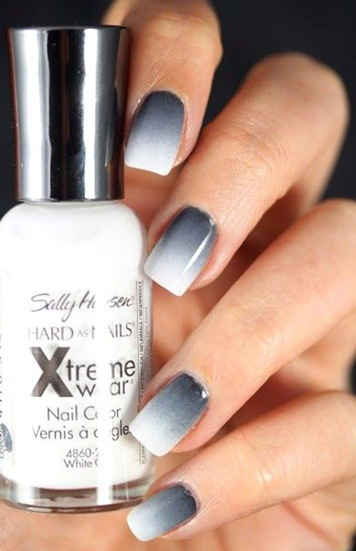 Grey-to-white-ombre-nails