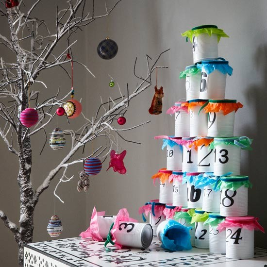 3-best-low-effort-christmas-decorating-ideas-Modern-stacking-advent-calendar