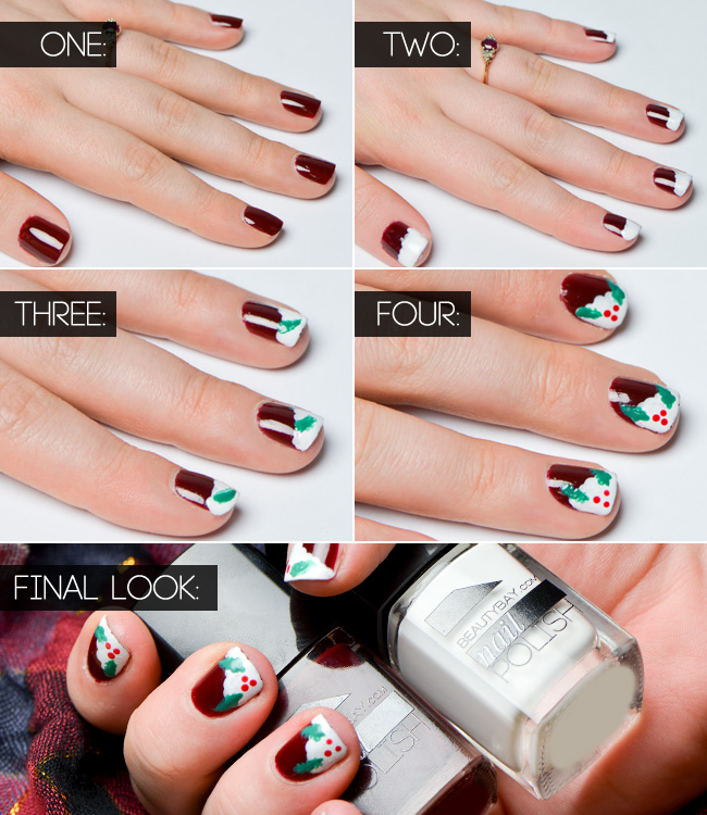 xmas-nails-steps-xmas-puds