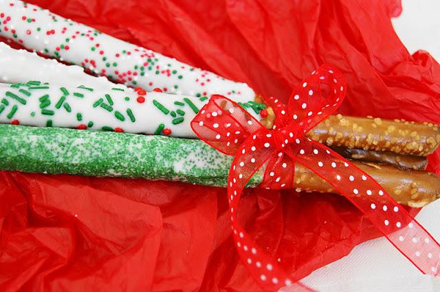 Christmas Pretzels_Bouquet Close-Up 2