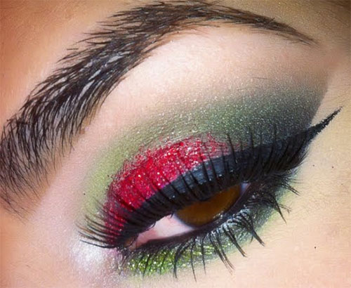 Creative-Christmas-Party-Or-Fantasy-Eye-Make-Up-Ideas-Looks-X-mas-Eyeshadows-8
